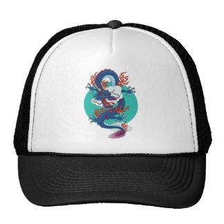 Dragón chino gorras de camionero