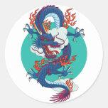 Dragón chino pegatina