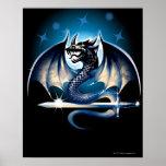 Dragón con la espada poster
