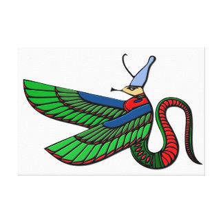 Dragón - criatura mítica de Egipto antiguo Impresiones En Lona Estiradas