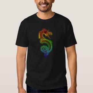 Dragón de Chineese Camisetas