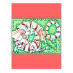 Dragón de la hierbabuena postal