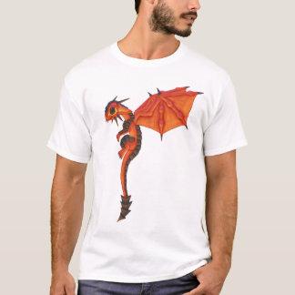 Dragón de la lava camiseta