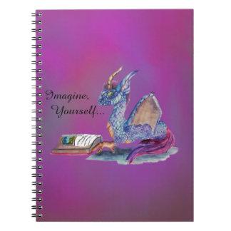 Dragón de la lectura cuaderno