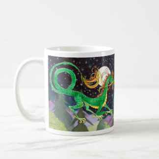Dragón de la noche estrellada, 2012, año del dragó taza
