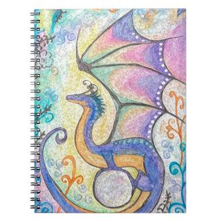 Dragón de la primavera cuaderno