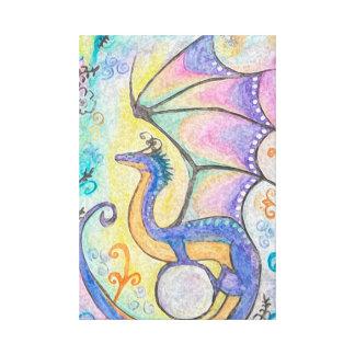 Dragón de la primavera lienzo