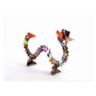 Dragón de Origami Postal
