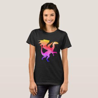 Dragón del arco iris 3D Camiseta