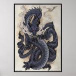 Dragón del este póster