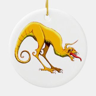 Dragón del gusano adorno de navidad