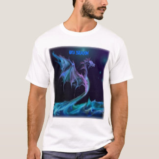 dragón del mar camiseta