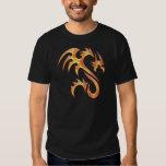 Dragón del oro camisetas