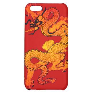 Dragón del oro y del naranja por Año Nuevo chino