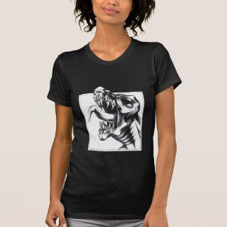 Dragón del rugido camisas
