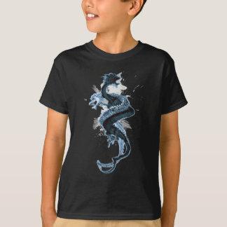 Dragón doble 4 camiseta