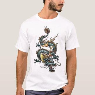 Dragón estilizado 07 camiseta