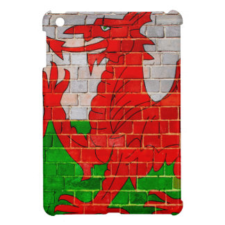 Dragón Galés en una pared de ladrillo