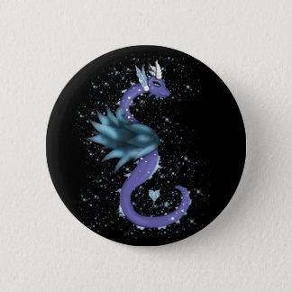 Dragón helado chapa redonda de 5 cm