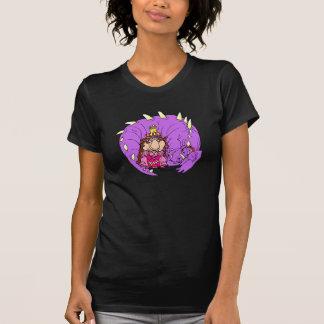 Dragón lindo de la princesa y del mascota camiseta