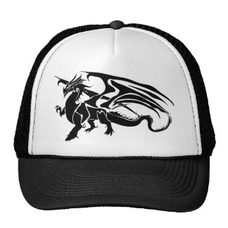 Dragón negro gorros