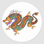 dragón pegatina