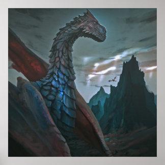 dragón póster