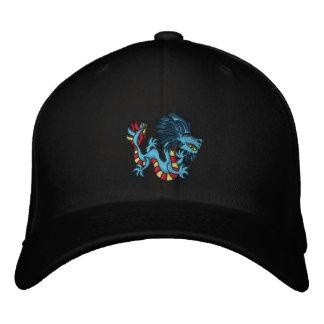 Dragón rayado gorra de béisbol