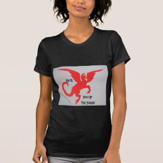 Dragón rojo camisetas