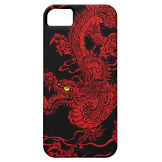 Dragón rojo iPhone 5 Case-Mate cárcasa