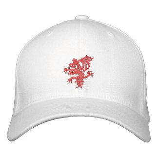 dragón rojo tribal gorras de beisbol bordadas