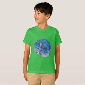 Dragón soñoliento camiseta