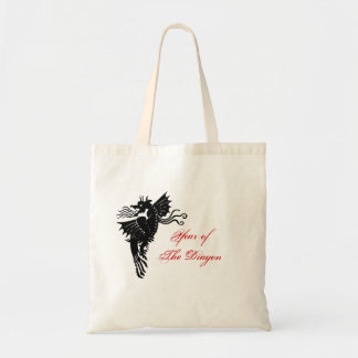 Dragón tribal bolsas de mano
