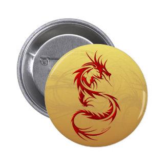 Dragón tribal pin