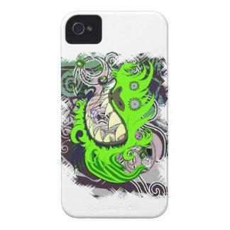 Dragón urbano iPhone 4 Case-Mate carcasa