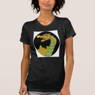 Dragón verde camisetas