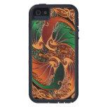 Dragones célticos iPhone 5 fundas