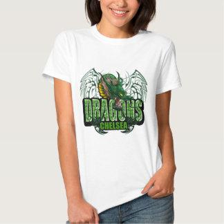 Dragones de Chelsea (alas) Camisetas