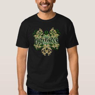 Dragones de Chelsea (rizo tribal) Camiseta