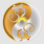 Dragones del zen etiqueta