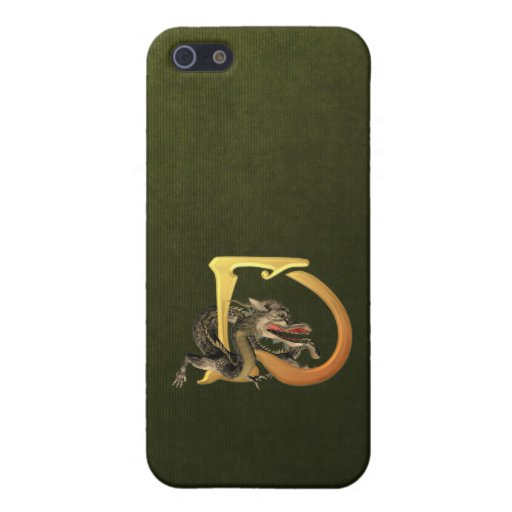 Dragonlore D inicial iPhone 5 Carcasas