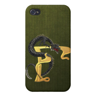 Dragonlore F inicial iPhone 4 Cárcasa
