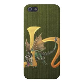 Dragonlore H inicial iPhone 5 Carcasa