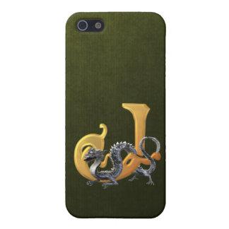 Dragonlore J inicial iPhone 5 Cárcasas