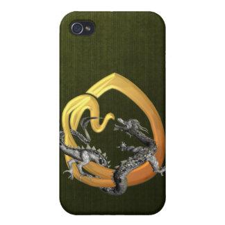 Dragonlore O inicial iPhone 4/4S Funda
