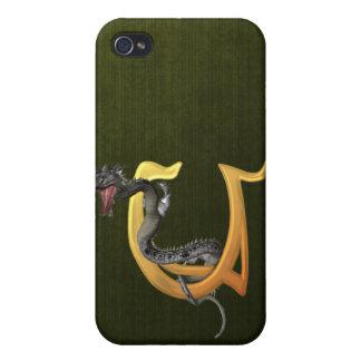 Dragonlore U inicial iPhone 4/4S Carcasas