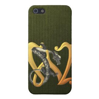 Dragonlore W inicial iPhone 5 Carcasas