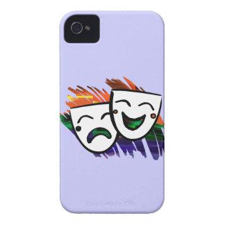 Drama: Chapoteo del color Case-Mate iPhone 4 Protector