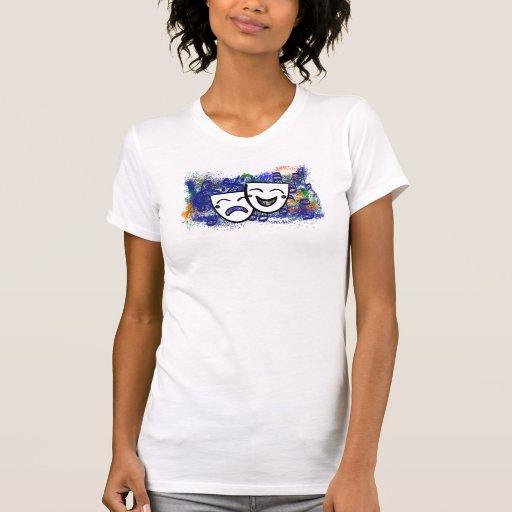 Drama: Un chapoteo de la música Camisetas