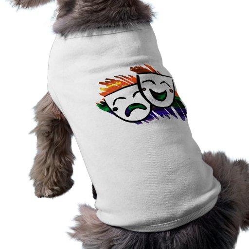 Drama: Un chapoteo del color Camisetas De Perro